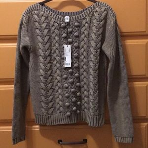 NWT Esprit Textured Pullover Sweater